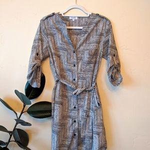 Barney's Abstract Print Dress